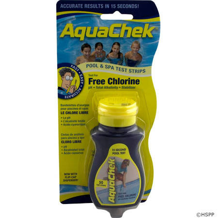AquaChek Yellow chlorine test strips