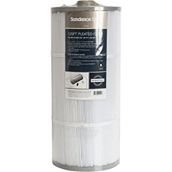 White and grey cylindrical 6540-488 2000 Plus Sweetwater spa filter