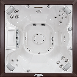 white Select Series Constance sundance spa hot tub
