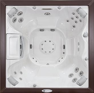 white Select Series Constance sundance spa hot tub