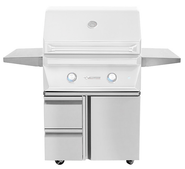 30″ Grill Base with Storage Drawers, Single Door