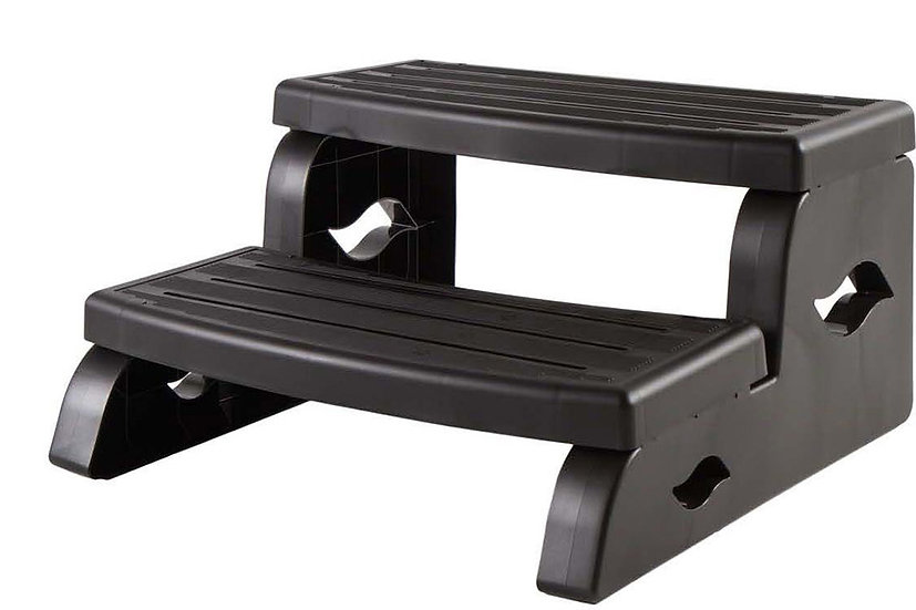 DuraStep II spa step in black