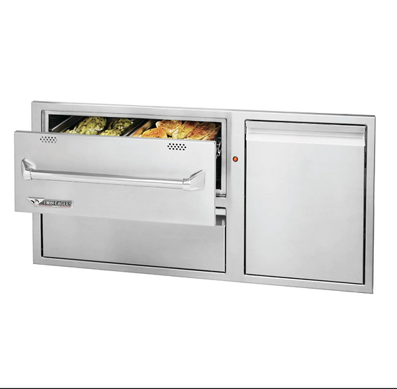 "42"" Twin Eagles Warming Drawer Combo"