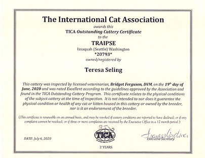 TICA Outstanding Cattery 2020 - 2021.jpg