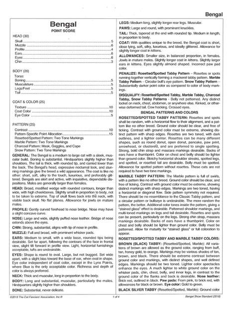 CFA Bengal Standard 2016-2019 pg 1