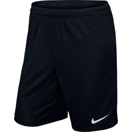 Nike Park II Youth Knit Black Shorts