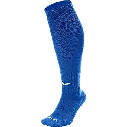 NIKE Classic II Cushion Over-the-Calf Soccer Football Sock (Royal Blue/White)
