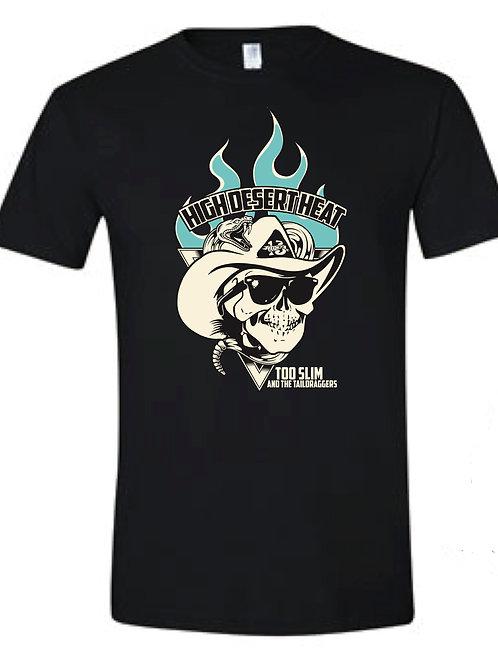 Blue Flame Skull T