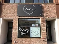 Envie Storefront Signage