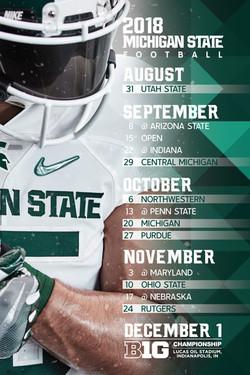 2018 MSU Football Schedule