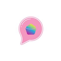 """Cupcake Logo """"Cake-Cup"""""""
