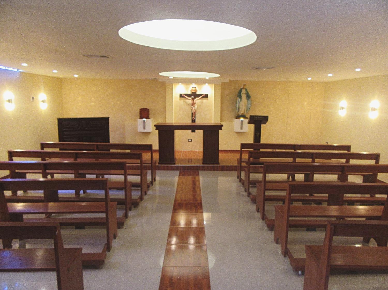 Nuestra remodelada capilla