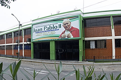 fachada CEA JUAN PABLO II