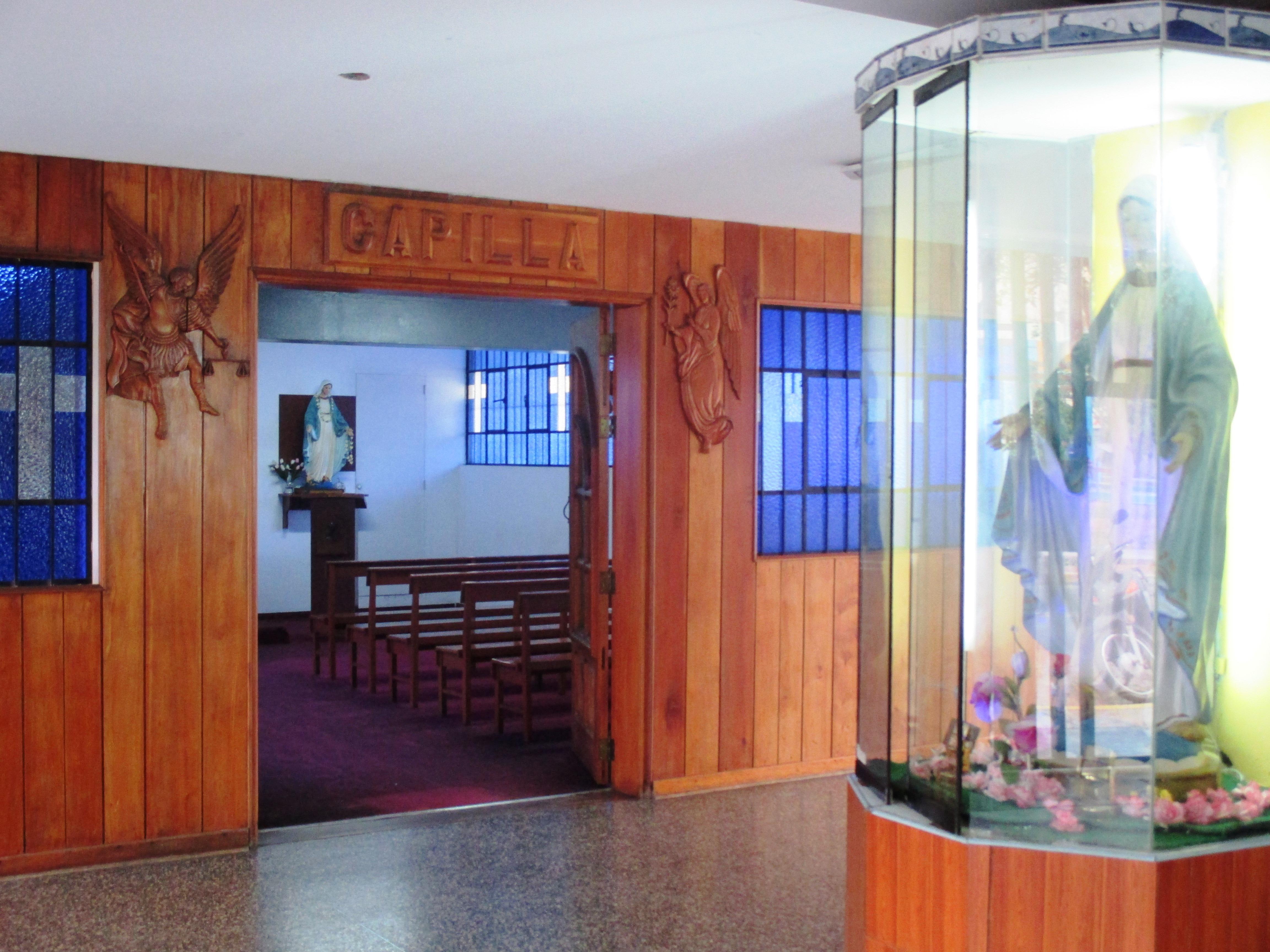 Frontis de nuestra capilla