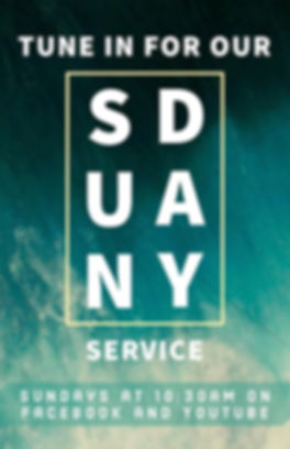 Our Sunday Services are online at 10:30am