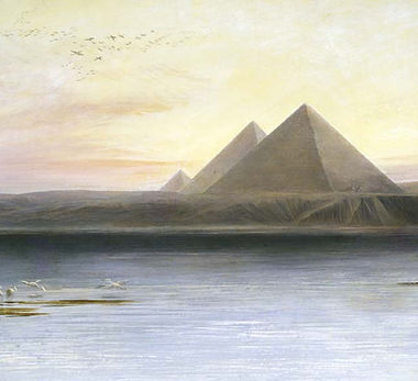 Painting of the Pyramids