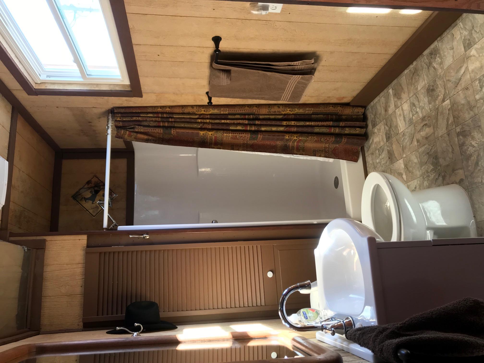 Cabin Half bath