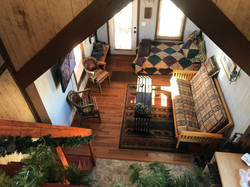 Cabin loft.