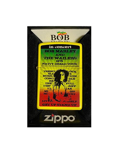 Accendino Zippo Originale a benzina ricaricabile - Bob Marley 1975