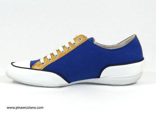 Sneaker in tessuto  Donna Alviero Martini Prima Classe - Blu