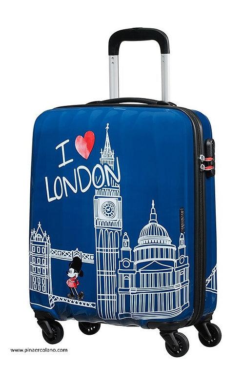 Trolley 4 Ruote 55 cm Disney Legends - Take Me Away Mickey London