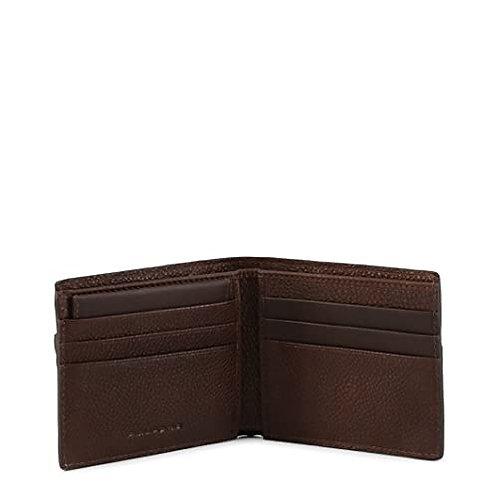 Portafoglio uomo in pelle carte di credito Rfid - Vostok - Piquadro