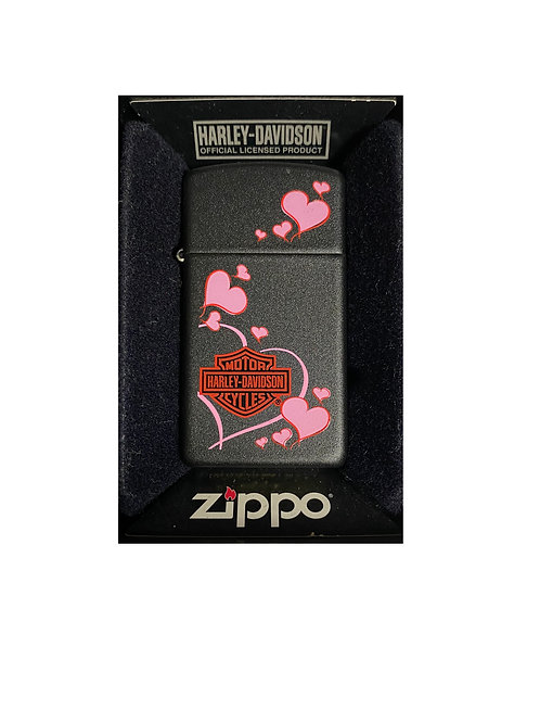 Accendino Zippo Originale a benzina ricaricabile - Floating Hearts