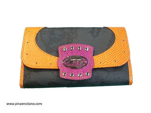 Portafoglio Medio Donna Alviero MartiniPrima Classe  - Multicolore