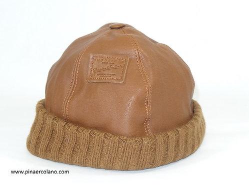 Cappello in pelle - circonferenza ca. 55 cm - The Bridge