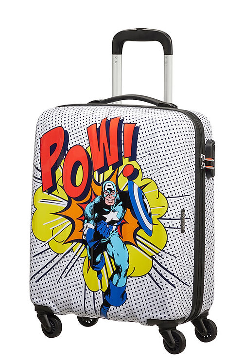Spinner cabina 4 ruote 55 - Marvel Legends  Captain America  American Tourister