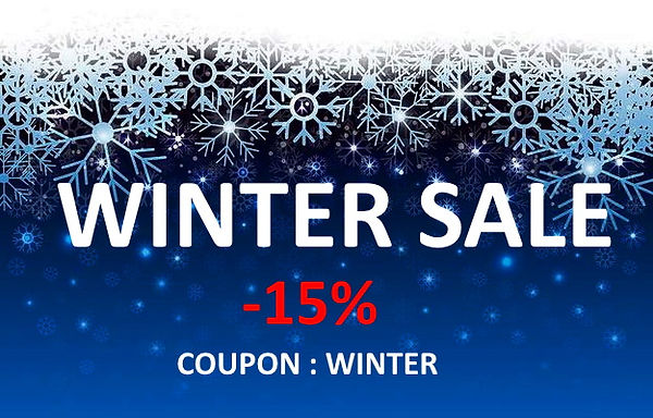 winter sale -15% DISCOUNT