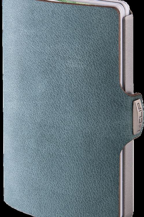Portafoglio carte di credito  I-Clip in pelle  -  Soft Touch