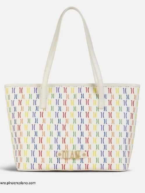 Borsa shopping Grande - Alviero Martini 1^ Classe - Monogram Rainbow