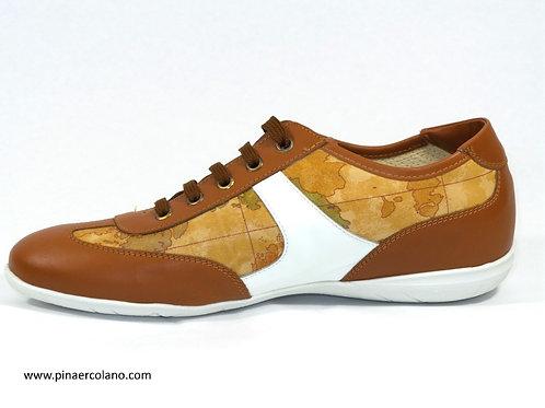 Sneaker in pelle e vernice Donna Alviero Martini Prima Classe Geo