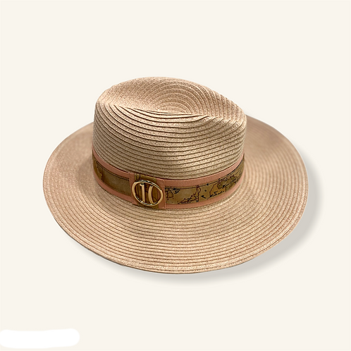 Cappello classico treccia logo 1C - Alviero Martini Prima Classe
