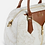 Thumbnail: Borsa  bauletto a mano - Geo White Glamour - Alviero Martini Prima Classe