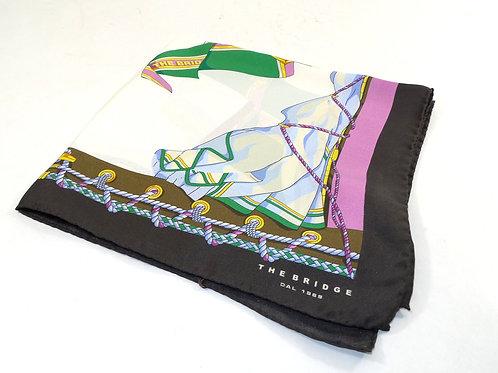 Fazzoletto da collo The Bridge 100% Seta 50x50 cm - Multicolor