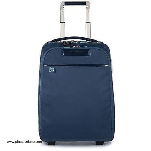 Trolley Cabina  - Piquadro Celion Trolley, Nylon, 35 Litri, 50 cm - Blu