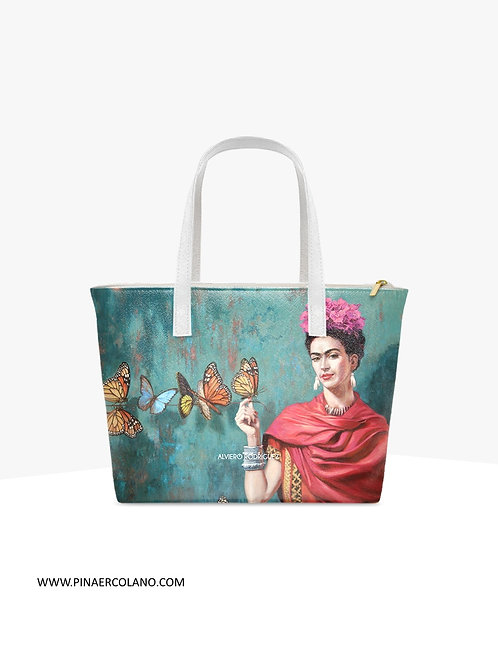 Borsa Shopping - Manuela Alviero Rodriguez - Frida Butterfly