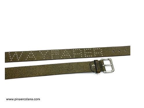 Cintura Donna The Bridge - Wayfarer - in pelle  cm 3,5 - Misura 110 - 125 cm - N