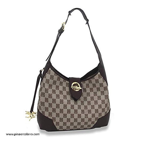 Borsa Sottospalla Anita Piero Guidi Iconic Monogram Colored