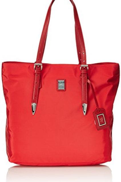 Borsa a mano shopping Piero Guidi LIneabold Daytime - rosso