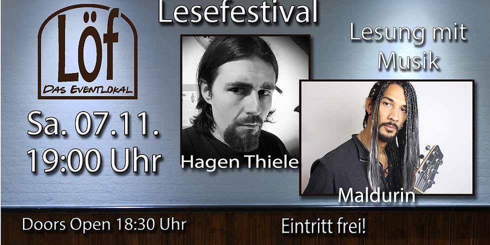 """""""Horror mit Musik"""" Hagen Thiele & Maldurin"""