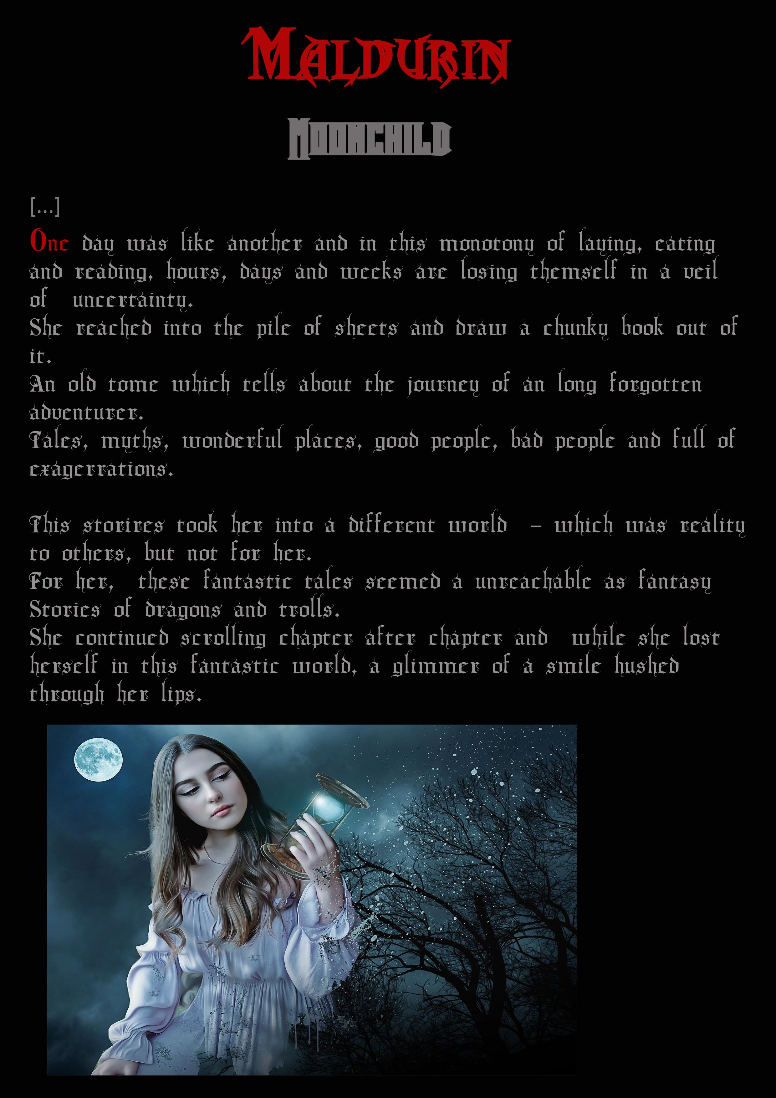 Moonchild story 1