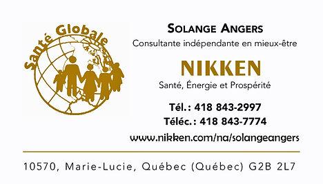 Nikken - Solange Angers