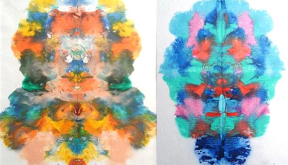 De retour avec mes peintures spirituelles. Venez voir ma collection ou encore faire créer une peinture avec un message venant de votre âme.  Au plaisir de vous rencontrer.