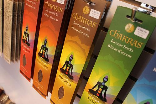 7 Chakras, bâtons et huiles