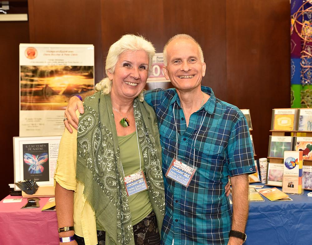 Diane Boucher et Peter Clérin