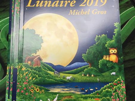 Au tour du Calendrier Lunaire 2019!