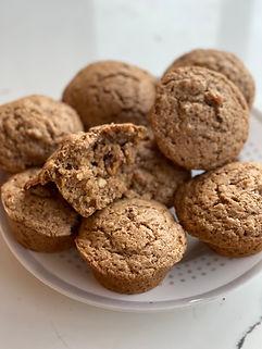 Sourdough Maple Walnut Muffins